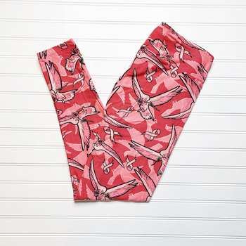 Breast Cancer Awareness One Size Leggings (One Size)