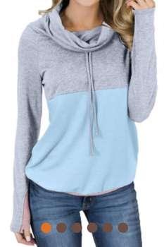 Cowl Neck Sweatshirts (2XL)