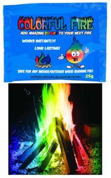OTHER (3 Pack Colorful Fire)