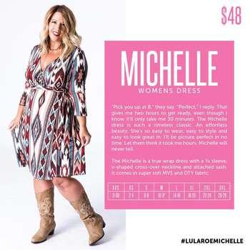 Michelle (Sizing Chart)