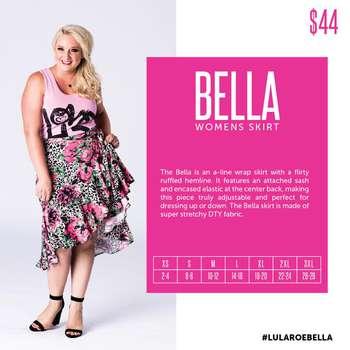 Bella (Sizing Chart)
