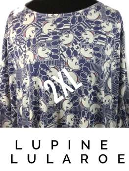 LuLaRoe Collection for Disney Irma (2XL)