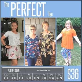 Perfect Tee (Sizing Chart)