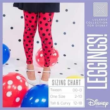 18b64cfee5b872 LuLaRoe Collection for Disney Tall and Curvy Leggings