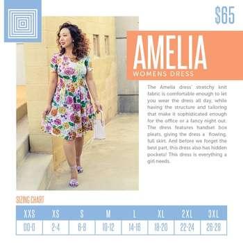 Amelia (Sizing Chart)