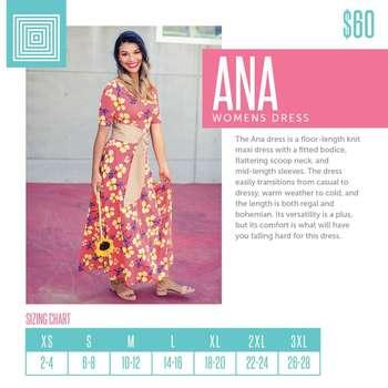 Ana (Sizing Chart)