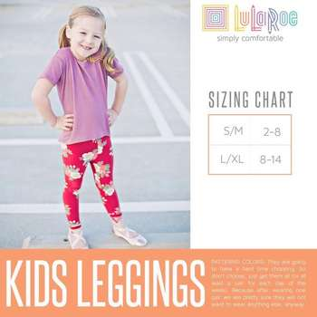 Kids Leggings (Sizing Chart)