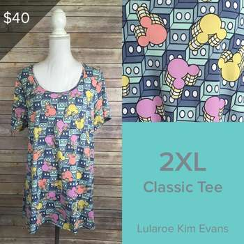 LuLaRoe Collection for Disney Classic T (2XL)