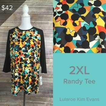 LuLaRoe Collection for Disney Randy (2XL)