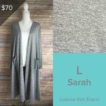 Sarah Cardigan (L)