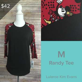LuLaRoe Collection for Disney Randy (M)