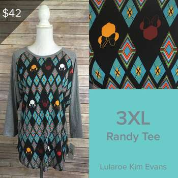LuLaRoe Collection for Disney Randy (3XL)