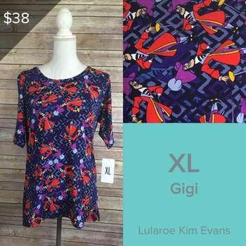 LuLaRoe Collection for Disney Gigi (XL)