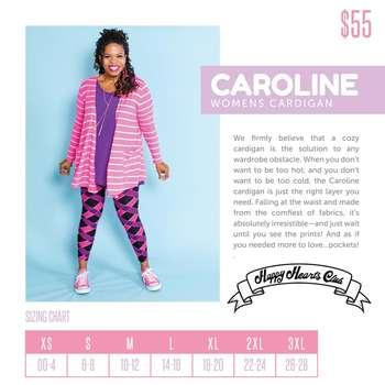 Caroline (Sizing Chart)