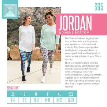 Jordan (Sizing Chart)