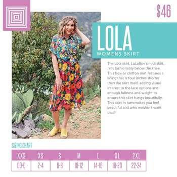 Lola (Sizing Chart)