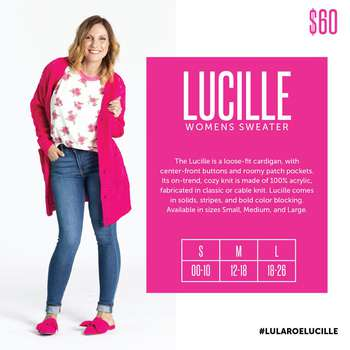 Lucille (Sizing Chart)