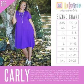 Carly (Sizing Chart)