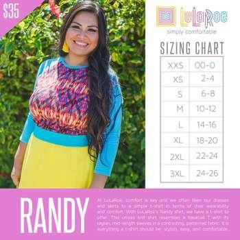 Randy (Sizing Chart)