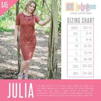 Julia (Sizing Chart)