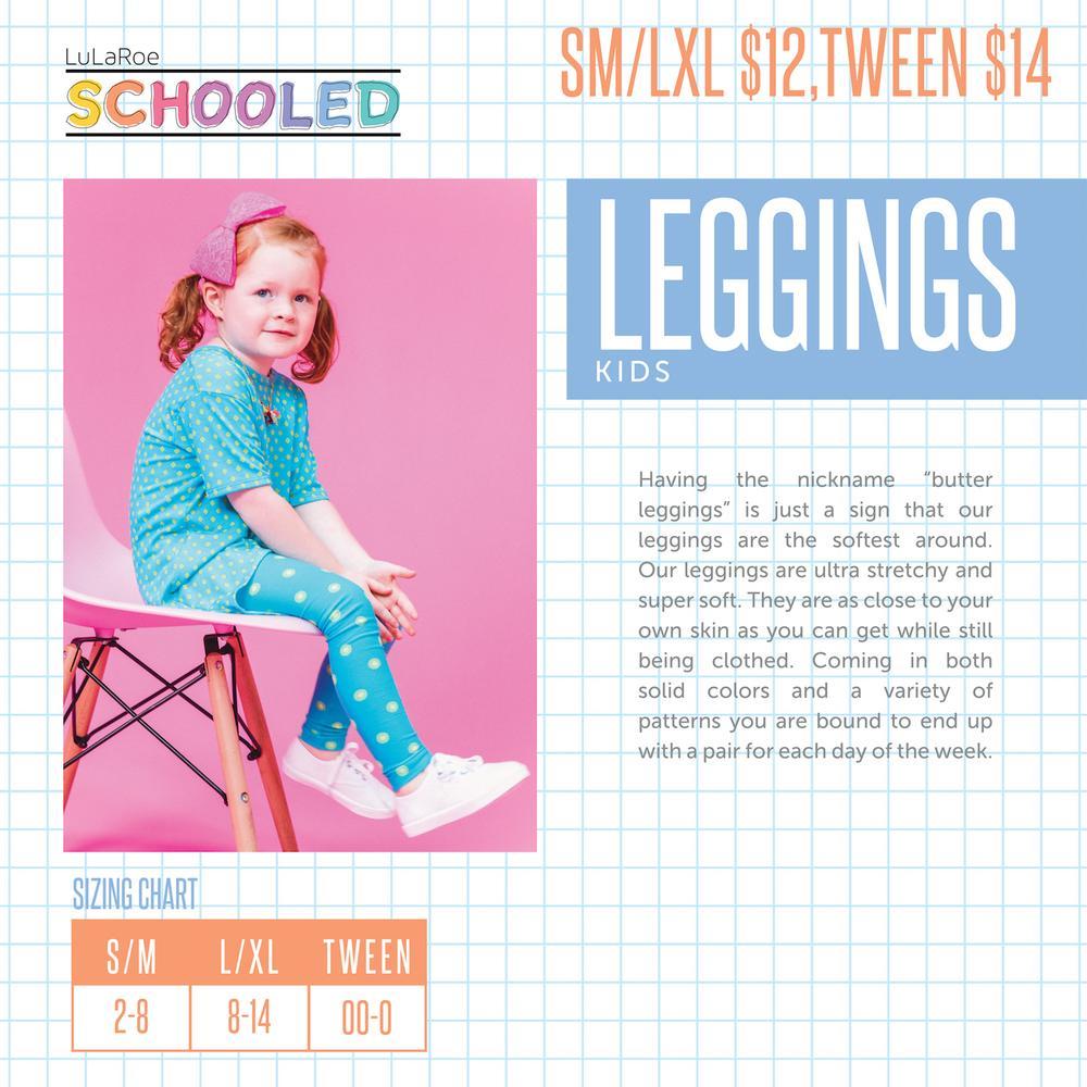 91e4bc0371b22f The LuLaRoe Online Store - ALWAYS FREE SHIPPING! - Tween Leggings Sizing  Chart