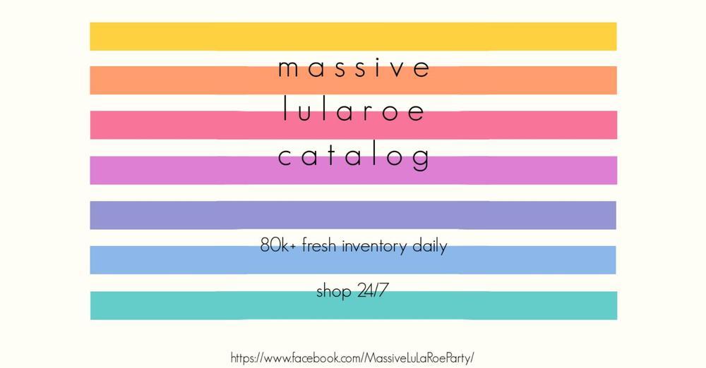 abb2c8ff350f27 Sonlet | Massive LuLaRoe Catalog!!! Shop OPEN with NEW PRINTS