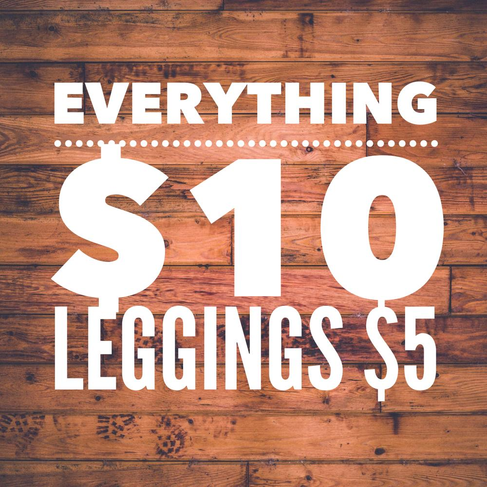 Sonlet | Everything $10 Leggings $5