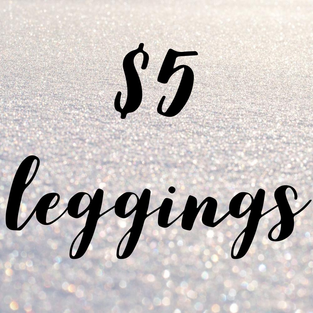 Sonlet | $5 LEGGINGS! ALL SIZES
